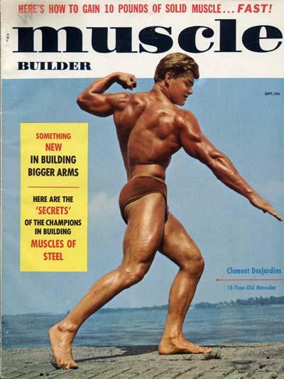 Mr America Muscle Builder Larry Scott 11-64 Bodybuilding