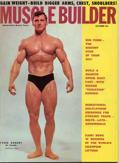 1963 MAY MUSCLE BUILDER MAGAZINE - JACK DELINGER - GREAT MUSCLE ISSUE - C 4526