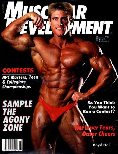 Thread muscular development magazine covers 1964 to present