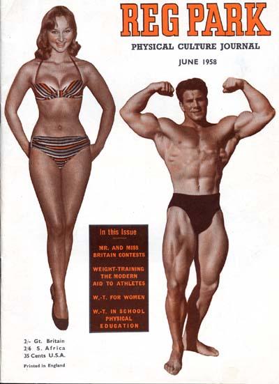 THE REG PARK JOURNAL muscle bodybuilding magazine/STEVE REEVES 4-54